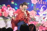 TBS『歌のゴールデンヒット オリコン1位の50年間』で歌唱する荻野目洋子(C)TBS