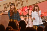 TBS『歌のゴールデンヒット オリコン1位の50年間』で歌唱するPUFFY(C)TBS