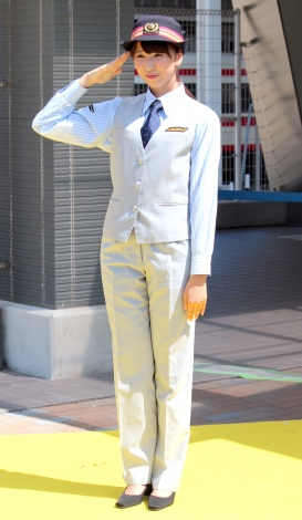 東武鉄道『子供祭り駅』駅名看板設置記念イベントに出席したももいろクローバーZ・玉井詩織 (C)ORICON NewS inc.