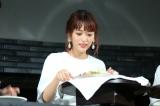 『ブラウン マルチクイック 9ハンドブレンダー』新製品発表会に出席した近藤千尋 (C)oricon ME inc.