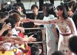 映画『ミックス。』完成記念イベントに出席した新垣結衣 (C)ORICON NewS inc.
