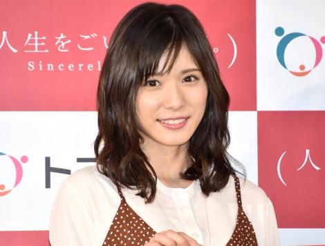 『トヨタホーム新CM発表会』に出席した松岡茉優 (C)ORICON NewS inc.