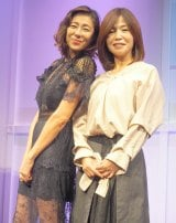 (左から)RIKACO、大久保佳代子 (C)ORICON NewS inc.