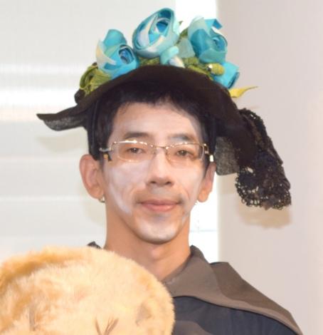 舞台『オーランドー』の公開フォトコールに出席した野間口徹 (C)ORICON NewS inc.
