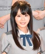 デビューシングル「僕は存在していなかった」発売記念ミニライブを開催した22/7の花川芽衣 (C)ORICON NewS inc.