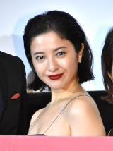 映画『ユリゴコロ』初日舞台あいさつに出席した吉高由里子