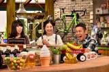 23日放送の関西テレビ『おかべろ』に出演する関根麻里と岡村隆史 (C)関西テレビ