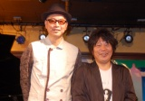 新レーベル『GEAEG RECORDS』を設立した(左から)Dr.kyOn、佐橋佳幸 (C)ORICON NewS inc.