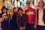 新レーベル『GEAEG RECORDS』設立記念コンベンションに出演した(左から)直枝政広、川村結花、佐橋佳幸、Dr.kyOn、高野寛