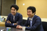 "『M-1グランプリ2017』予選1回戦を突破したお笑いコンビ""潮干狩""(左から)大野拓朗、前野朋哉"