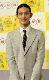 『平成29年度 NHK語学番組』発表会見に出席した栗原類 (C)ORICON NewS inc.