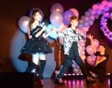 バースデーコンサートを開催する渡辺美奈代とオープニングアクトを務めた長男・矢島愛弥 (C)ORICON NewS inc.