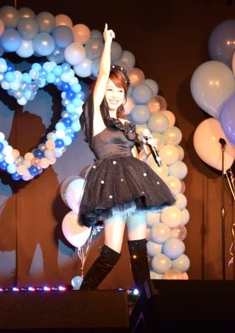 東京・パセラリゾーツ グランデ渋谷店でバースデーコンサートを開催する渡辺美奈代 (C)ORICON NewS inc.