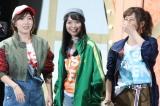 ベスト4入りを果たした3人ユニット「kissの天ぷら」(左から)大家志津香、北原里英、宮崎美穂  写真:estudio pepe 神田有希