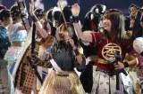 三太郎に扮した「サンタロウ」の高柳明音、大場美奈、松村香織 写真:estudio pepe 神田有希