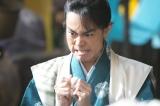 大河ドラマ『おんな城主 直虎』登場してから序盤はこのような般若のような顔を見せる虎松(菅田将暉)(C)NHK