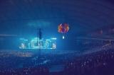 """気球に乗ってファンとアイコンタクトを取った=『Kana Nishino Dome Tour 2017 """"Many Thanks""""』東京ドーム公演より"""