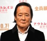 映画『アウトレイジ 最終章』ジャパンプレミアに出席した金田時男 (C)ORICON NewS inc.