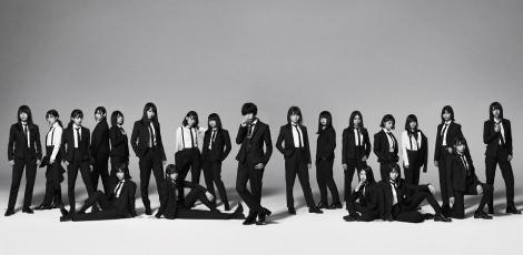 欅坂46が5thシングル「風に吹かれても」の新ビジュアルを公開