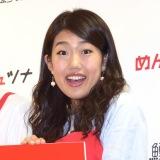 『ふくや「鱈卵屋 あけたらDeli めんツナ」』の発表会に出席した横澤夏子 (C)ORICON NewS inc.