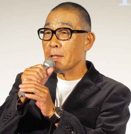 新番組『池波正太郎時代劇 光と影』の記者会見に出席したでんでん (C)ORICON NewS inc.