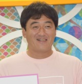KawaiianTVのスポーツ番組『女神スポーツ』初回生放送後の取材に応じた石井一久 (C)ORICON NewS inc.