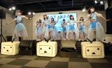 東京CuteCuteのメジャー1stシングル「未完成の少女」の発売記念イベントの模様 (C)ORICON NewS inc.