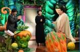 10月3日放送のTBS系『毒出しバラエティ山里&マツコ・デトックス』に出演する(左から)山里亮太、松たか子、マツコ・デラックス (C)TBS