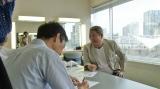テレビ東京生放送特番『おはよう、たけしですみません。』打ち合わせをするビートたけし