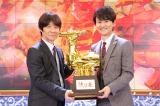 日本テレビ系正月特番『歌唱王』MCのウッチャンナンチャン (C)日本テレビ