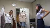 9月26日放送、関西テレビ・フジテレビ系『7RULES(セブンルール)』渡辺直美のファッションを支えるスタイリスト・大瀧彩乃さんに密着(C)関西テレビ