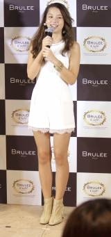 『BRULEE Cafe』オープン発表会に出席したNiki (C)ORICON NewS inc.