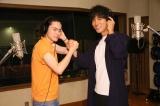 ビートたけしの名曲「浅草キッド」をカバーした(左から)菅田将暉、桐谷健太(C)2017『火花』製作委員会