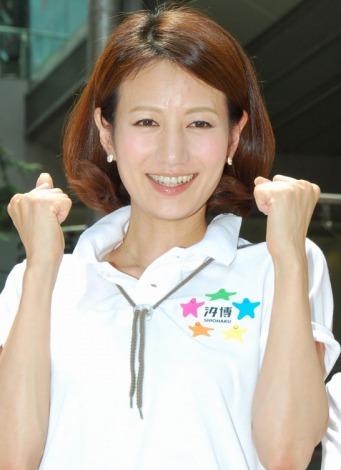 『汐博2012』キックオフイベントに登場した馬場典子アナ (C)ORICON DD inc.