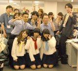 dropが東京・六本木のオリコンを来社 (C)ORICON NewS inc.