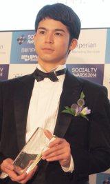 『ソーシャルテレビ・アワード2014』贈賞式に出席した菅谷哲也 (C)ORICON NewS inc.