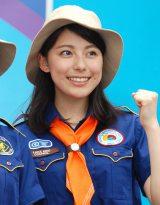 『デリシャカス 2015』ステージイベントに出席したTBS新人アナウンサーの上村彩子 (C)ORICON NewS inc.