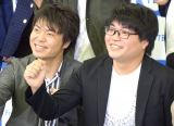 不参加表明をした昨年王者のライス(左から)田所仁、関町知弘 (C)ORICON New (C)ORICON NewS inc.