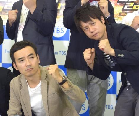 『キングオブコント2017』への意気込みを語ったかもめんたる(左から)岩崎う大、槙尾ユウスケ (C)ORICON NewS inc.