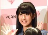 メジャーデビューイベント前囲み取材に出席した=LOVEの佐竹のん乃 (C)ORICON NewS inc.
