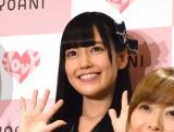 メジャーデビューイベント前囲み取材に出席した=LOVEの諸橋沙夏 (C)ORICON NewS inc.