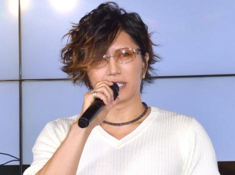安室奈美恵の引退について語ったGACKT =『dazzy』新ブランド発表会 (C)ORICON NewS inc.