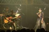 トップバッターのMONDO GROSSO(Vo.満島ひかり)はアコースティック編成で「ラビリンス」をしっとり歌い上げた
