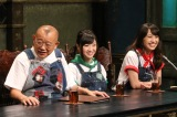 (左から)笑福亭鶴瓶、有安杏果、百田夏菜子(C)カンテレ
