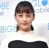 『BIGLOBE 新CM発表会』に出席した山本美月 (C)ORICON NewS inc.