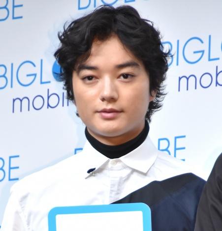 『BIGLOBE 新CM発表会』に出席した染谷将太 (C)ORICON NewS inc.