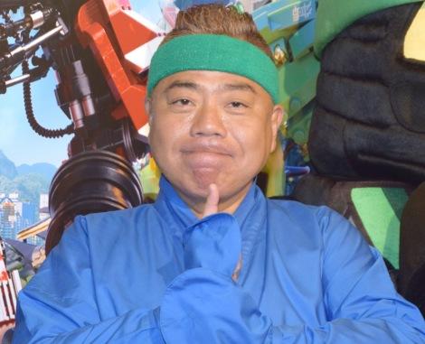 『レゴ ニンジャゴー ザ・ムービー』の公開直前イベントに参加した出川哲朗 (C)ORICON NewS inc.