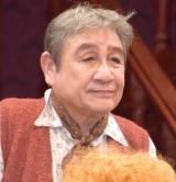 舞台『想い出のカルテット』のフォトコール&囲み取材に参加した鶴田忍