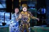 舞台『人間風車』の公開ゲネプロを行った加藤諒(右) 撮影:加藤幸広