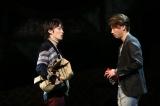 舞台『人間風車』の公開ゲネプロの模様 撮影:加藤幸広